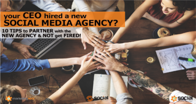 Your CEO Just Hired a New Social Media Agency - Here's How to Work With them and Not Get Fired