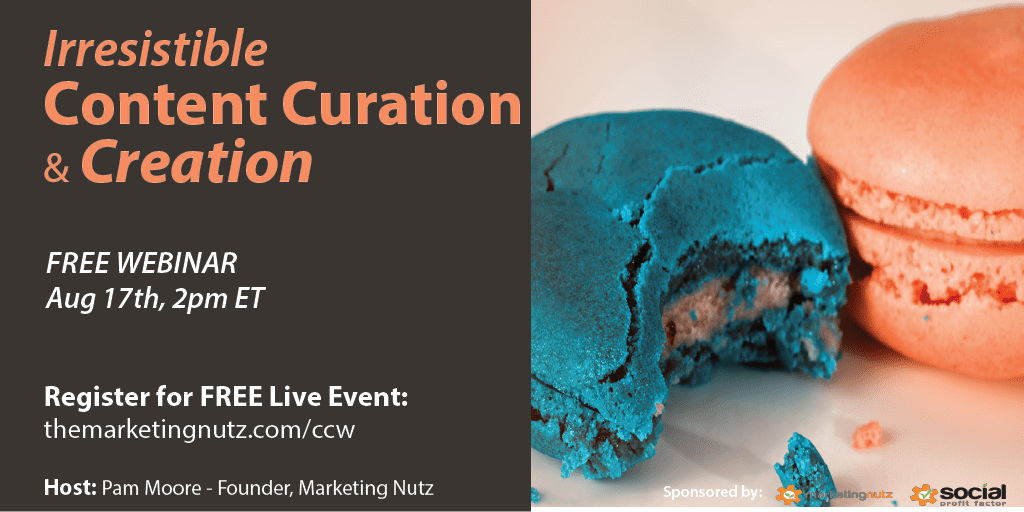 Irresistible content curation and creation free live webinar content curation creation training webinar malvernweather Image collections