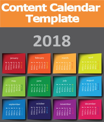 Free Download: Social Media Content Calendar Template 2018