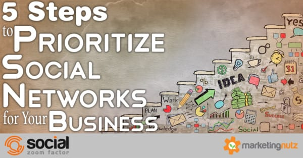 prioritize social networks for business