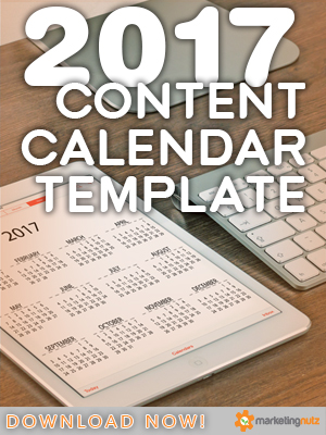 content marketing blog editorial calendar template