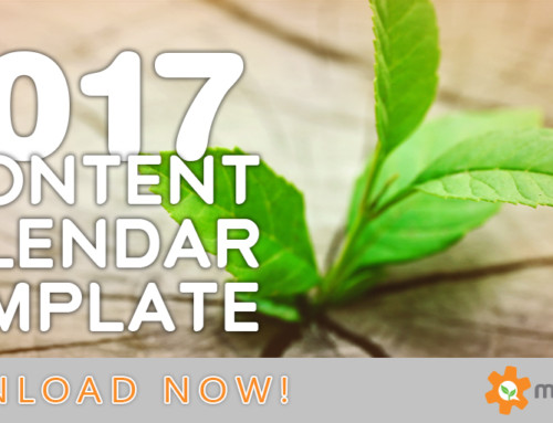 2017 Content Marketing Editorial Calendar Template and Tutorial