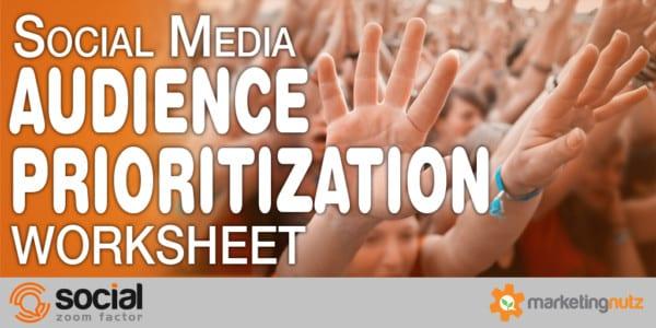 social media audience demographics prioritization