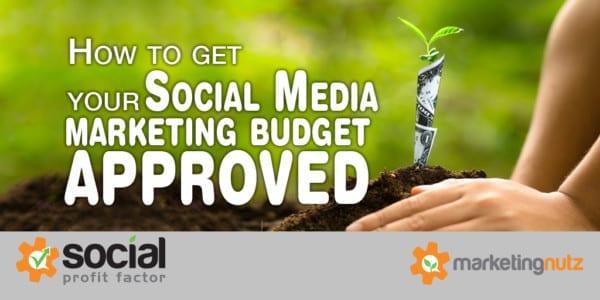get social media budget approved