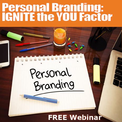 Free Webinar: Personal Branding 101