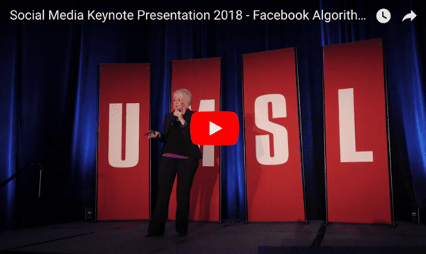 Social Media Keynote Presentation 2018 Pam Moore Midwest Digital Marketing Conference MDMC