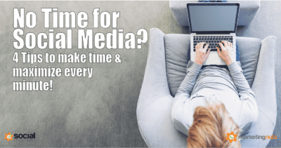 How to Make and Save Time for Social Media