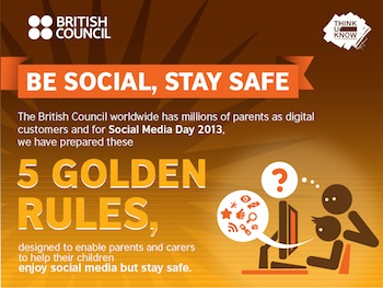 kids internet safety keeping children safe social media british council