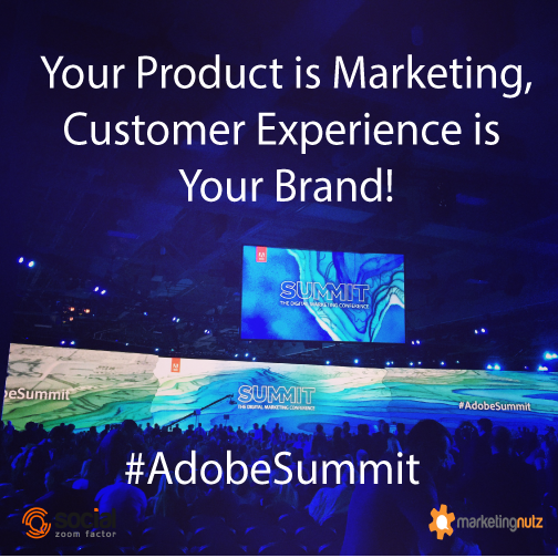 adobe summit brand experience marketing cloud
