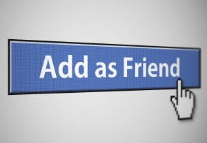 bigstock Add as friend 12981602 300x208 How to Convert Facebook Personal Profile Page to Business Page