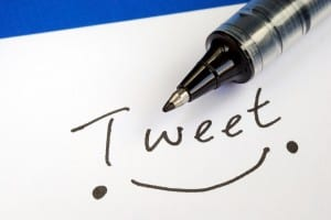 bigstock Write the word Tweet and draw  8040211 300x200 42 Things to do on Twitter besides Tweet Spam &amp; Coupons
