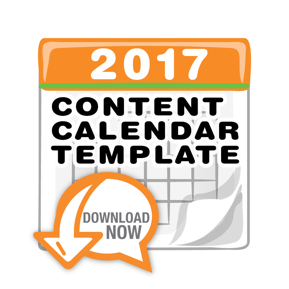 2017 content marketing editorial calendar template and tutorial pam moore speaker trainer. Black Bedroom Furniture Sets. Home Design Ideas