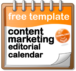 Content Marketing Editorial Calendar Template - Facebook posting schedule template