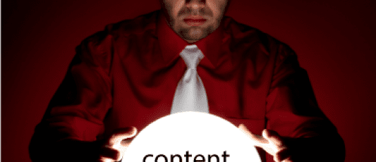 content marketing strategy social media shiny object