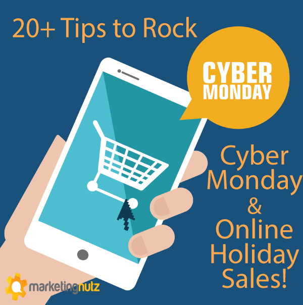 cyber monday black friday holiday ecommerce social media sales
