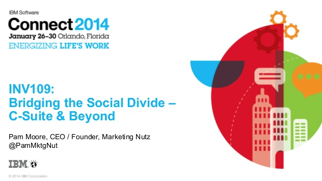 Generation S - Bridging the Social Digital Divide #IBMConnect [slideshare] | The Marketing Nut