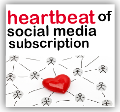 heartbeat of social subscription button1 Heartbeat of Social Media Subscription