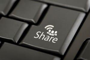 increase sharing blog posts