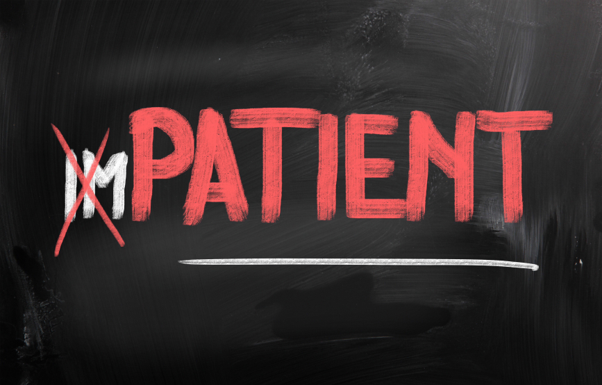 social business strategy results stop being impatient