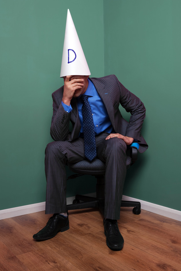 10 stupid social media marketing tactics you must stop now for Dunce hat template