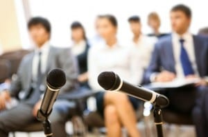 photodune 356981 at conference xs 300x199 24 Tips to Increase Conference and Event ROI by Integrating Social Media