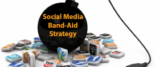 social media band-aid