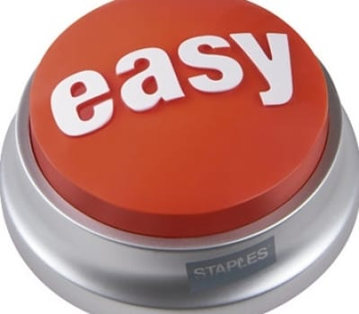 social media easy button