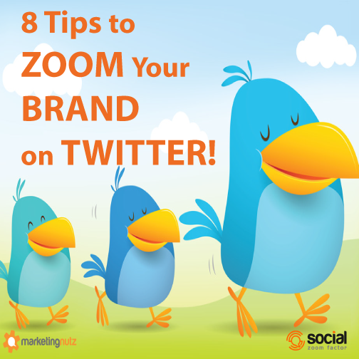 zoom your brand using twitter