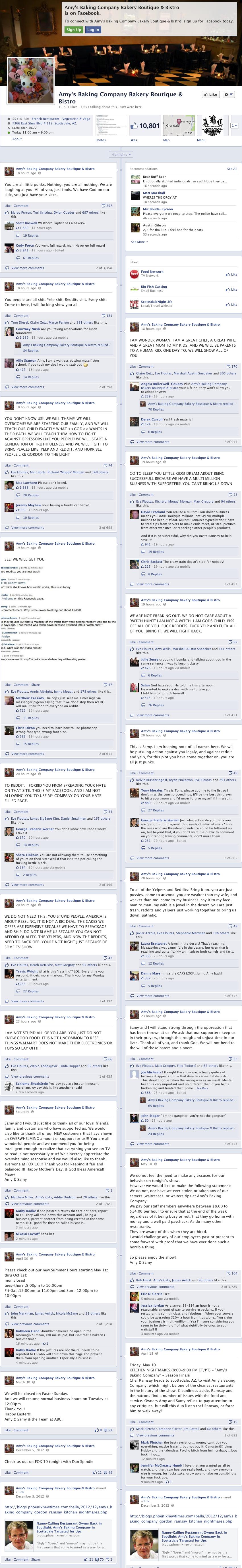 Facebook Case Study Amys Baking Company