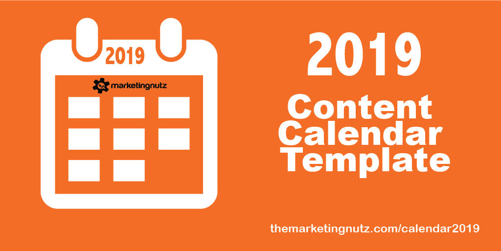 2019 Content Marketing Calendar Template [FREE DOWNLOAD + PODCAST]