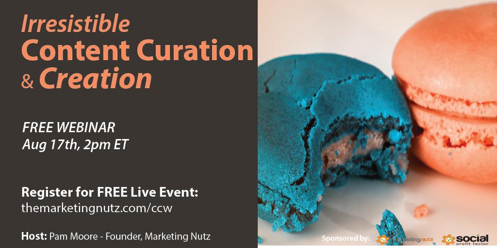 content curation creation training webinar