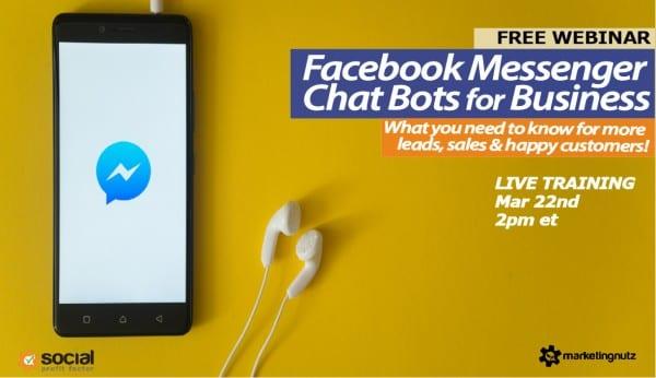 Facebook Facebook Messenger Chatbot for Business 2018