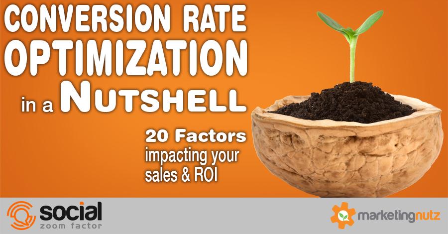 conversion rate optimization factors impacting sales