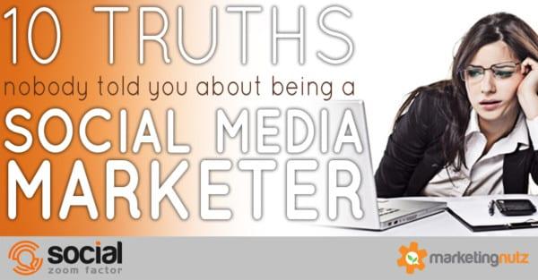 social media marketer career trust nobody told you