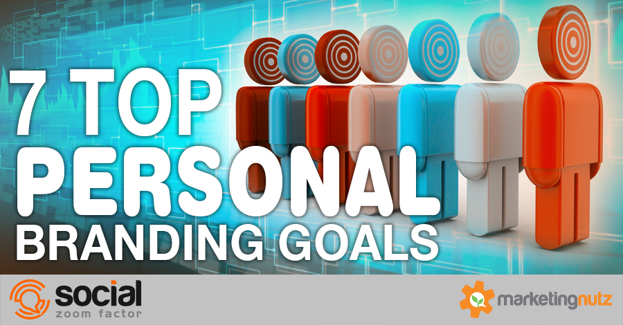 personal branding goals to develop your social brand strategy