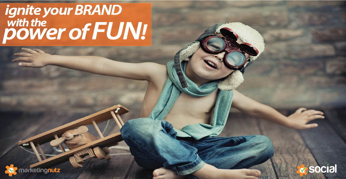 Power of Fun: Ignite Brand Awareness and Grow Your Business with the FUN Factor