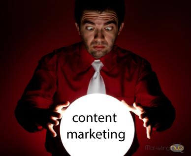 content marketing strategy social media shiny object