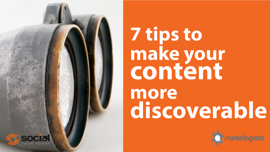 how to create discoverable content for search engines and social networks
