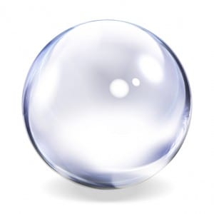 social media crystal ball