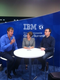 Interviewing @TheCharlieCole @Portentint #IBMSCGS3
