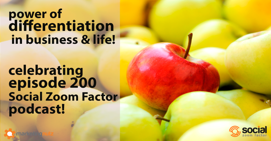 podcasting differentiation brand and media social zoom factor