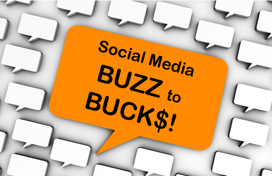 social media roi buzz to bucks