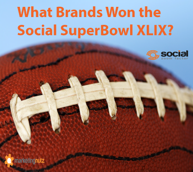 What Brands Won the Social SuperBowl XLIX?