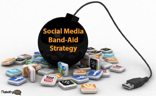 social media band-aid