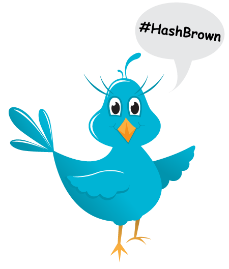 Twitter Hashtag Hashbrown Tips