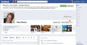 welcome to facebook timeline